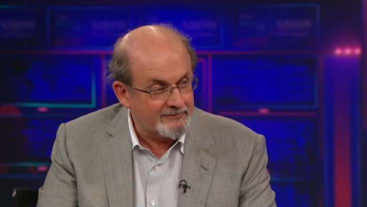 Salman Rushdie on <em>The Daily Show</em>: &quot;My Life Was Like a Spy Novel&quot; [VIDEO]